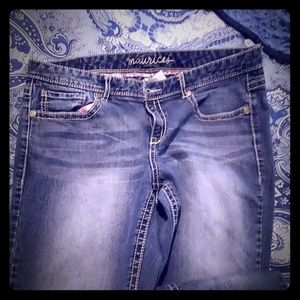 WOMEN'S JEANS BRAND NEW SIZE 11-12 MAURICE'S